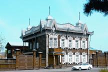 House of Europe - one of the most beautiful wooden houses in Irkutsk