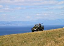 Jeep tours , Island Olkhon