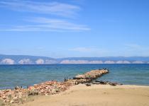 Sandy bays of Olkhon Island