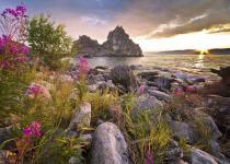 Shaman Rock (Island Olkhon)