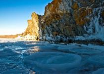 Frozen Baikal