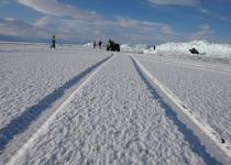 Icy highway