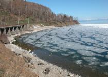 First ice of Baikal