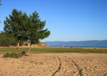 Sandy dunes of Olkhon Island
