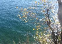 The last warm days in autumn