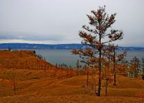 Olkhon island in autumn