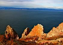 "Cape ""Three Brothers"", Island Olkhon"