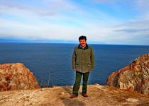 "General Director of ""Sputnik"" Igor Kovalenko, Island Olkhon"