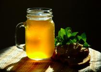 Kvas - traditional non-alcoholic drink in Russia
