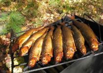 Omul fush - the main visit card of Baikal cuisine