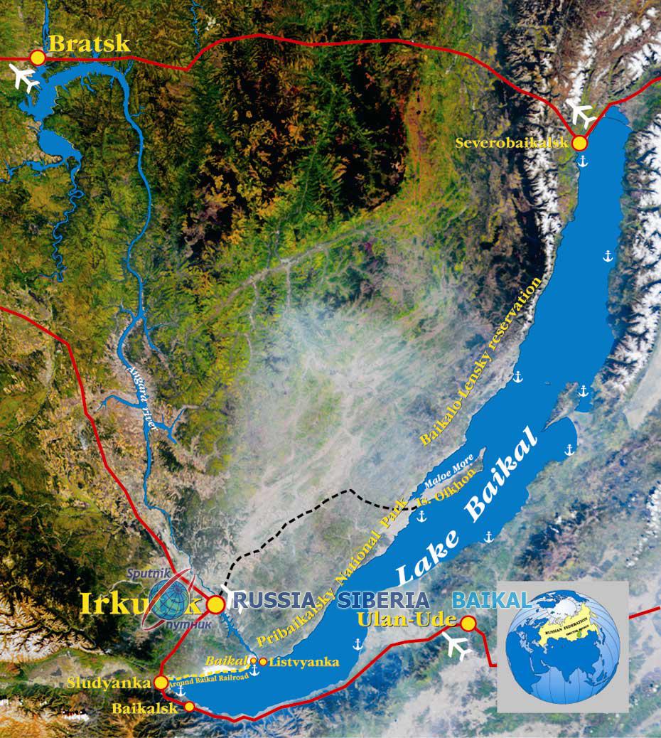 Lake Baikal Russia Siberia Baikal