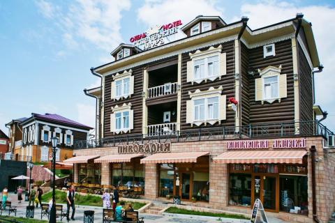 Отель Купеческий Двор _ город Иркутск